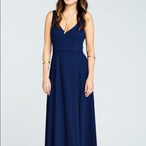 Show Me Your Mumu Jenn Bridesmaid Dress Xs Navy
